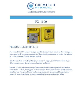 chemtech-us-products-catalog-cover-gas-leak-detectors-FX-1500-1 Gas Leak Detectors