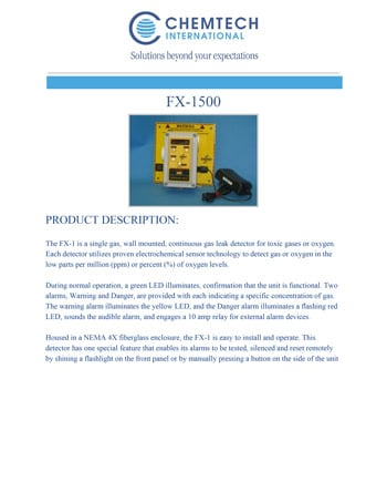 chemtech-us-products-catalog-cover-gas-leak-detectors-FX-1MiniDectector-1 Gas Leak Detectors