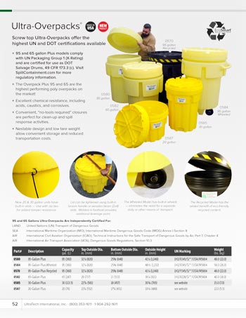 chemtech-us-products-catalog-cover-secondary-containment-Ultra-Overpack-Plus Secondary Containment