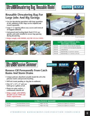 chemtech-us-products-catalog-cover-stormwater-safety-products-Dewatering-Bags-and-Passive-Skimmer Stormwater Safety Products