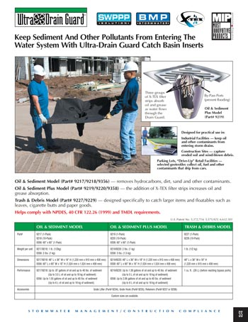 chemtech-us-products-catalog-cover-stormwater-safety-products-Drain-Guards Stormwater Safety Products