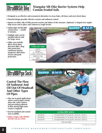 chemtech-us-products-catalog-cover-stormwater-safety-products-Silt-Dike-and-Pipe-Sock Stormwater Safety Products