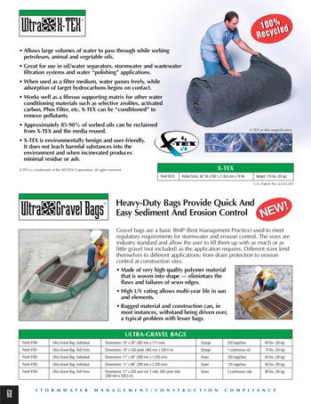 chemtech-us-products-catalog-cover-stormwater-safety-products-X-Tex-and-Gravel-Bags Stormwater Safety Products