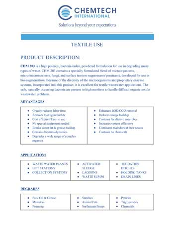 chemtech-us-products-catalog-cover-waste-water-treatment-CHM-203TextileUse-1 Waste Water Treatment