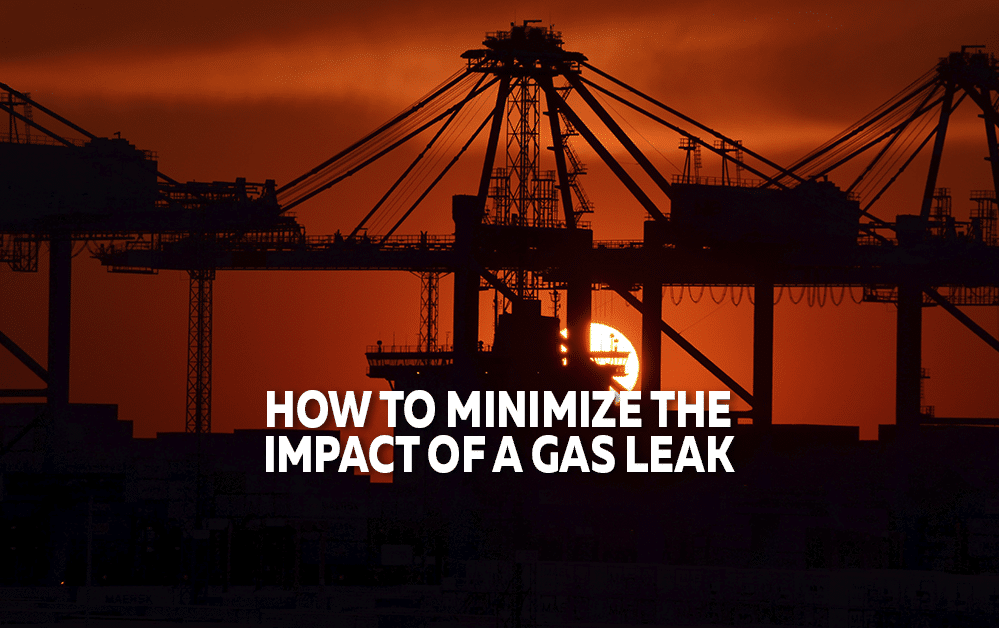 How To Minimize The Impact Of A Gas Leak